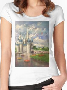 Castle of Dreams Women's Fitted Scoop T-Shirt