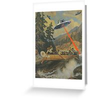 When Explorers Collide Greeting Card