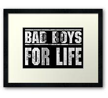 Bad Boys For Life Framed Print
