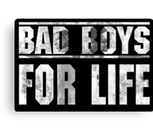 Bad Boys For Life Canvas Print