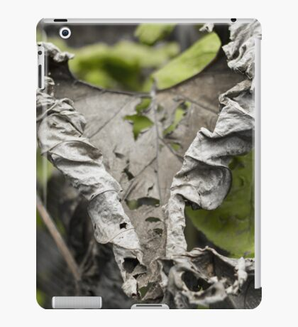 Withered Heart - Nature Photography iPad Case/Skin
