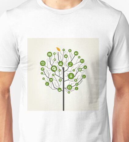 Musical tree9 Unisex T-Shirt