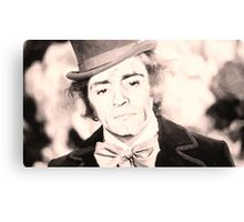 Cheer Up Charlie, Willy Wonka / Charles Manson Canvas Print