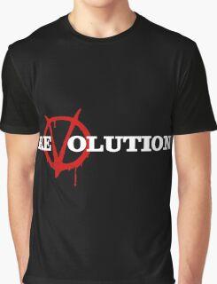 ReVolution V for Vendetta Graphic T-Shirt