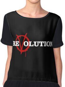 ReVolution V for Vendetta Chiffon Top