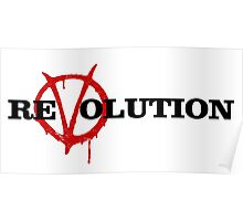 ReVolution V for Vendetta Poster