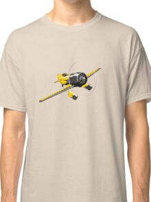 Retro racing airplane Classic T-Shirt