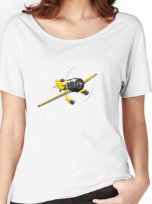 Retro racing airplane Women's Relaxed Fit T-Shirt