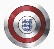 CAPTAIN ENGLAND - Captain America inspired English shield Baby Tee