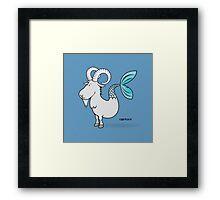 funny zodiac/capricorn Framed Print