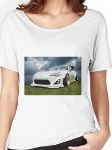 White Toyota GT 86 Women's Relaxed Fit T-Shirt