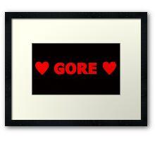 Gore 2 Framed Print