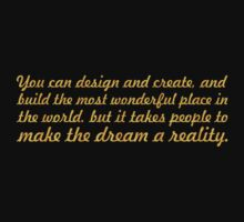 You can design and create... Inspirational quote Kids Tee