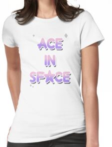 Ace in Space Womens Fitted T-Shirt
