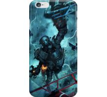 The eye of the storm iPhone Case/Skin