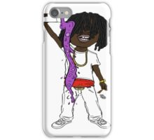 chief keef comic version iPhone Case/Skin