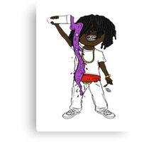 chief keef comic version Canvas Print