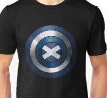 CAPTAIN SCOTLAND - Captain America inspired Scottish shield Unisex T-Shirt