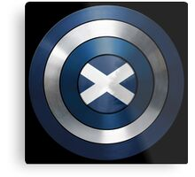 CAPTAIN SCOTLAND - Captain America inspired Scottish shield Metal Print