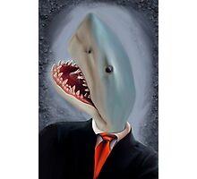 Mr. Shark Head Photographic Print