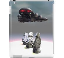 Easter Island Heads and UFO iPad Case/Skin