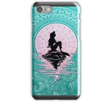 Mermaid Zentangle iPhone Case/Skin