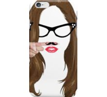 i love hipster iPhone Case/Skin