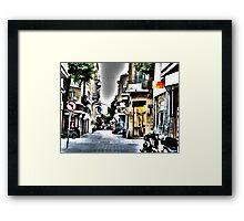 city's style Framed Print