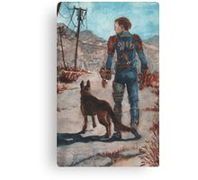 The Lone Wanderer Canvas Print