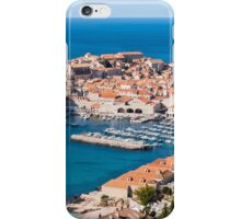 Azure Water and Old Town iPhone Case/Skin