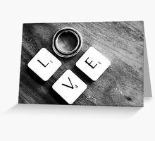~~*LOVE *~~  sold  4  YAY  Greeting Card
