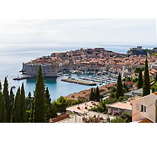 Dubrovnik Old Town Photographic Print