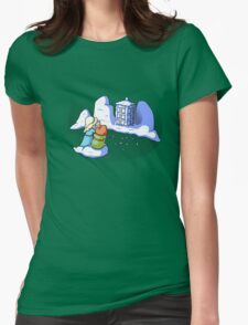 Do You Want to Build a Tardis? Womens Fitted T-Shirt