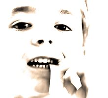 High Key Portraits - Boy Chewing Gum by Buckwhite