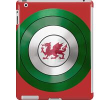 CAPTAIN WALES - Captain America inspired Welsh shield iPad Case/Skin