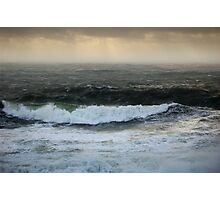 Stormy seas in colour II - Photography Photographic Print