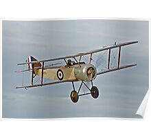 Sopwith Pup in flight Poster