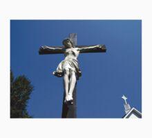 Statue of Jesus On The Cross Baby Tee