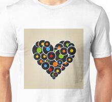 Vinyl heart Unisex T-Shirt