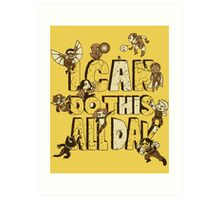 I can do this Art Print
