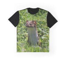 Pop-up stoat Graphic T-Shirt