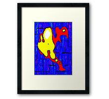Bird man Framed Print