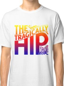 THE TRAGICALLY HIP - Artist logo white gradient summer tour 2016 Classic T-Shirt