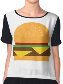 Burger Chiffon Top