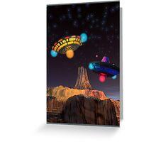 CE3K UFOs V2 Greeting Card