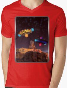 CE3K UFOs V2 Mens V-Neck T-Shirt