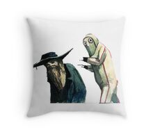 Sneakin Throw Pillow