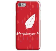 Ancient feathers type MF iPhone Case/Skin