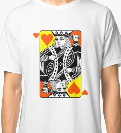 KING (OF HEARTS) Classic T-Shirt