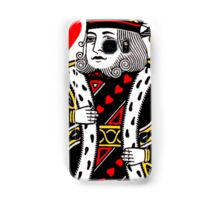 KING OF HEARTS-LARGE Samsung Galaxy Case/Skin